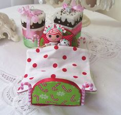 Christmas mini lala bed