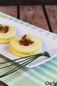 Olio e Aceto: Ricetta pasticcini di semolino con mortadella e formaggio