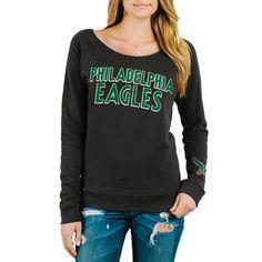 e6c59c96f Women s Philadelphia Eagles Junk Food Black Champion Fleece Sweatshirt