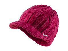 Nike Golf Ladies Knit Cap - Fireberry