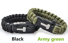 4 in 1 Survival Flint Fire starter paracord Whistle Gear Buckle Camping ignition Equipment rescue rope escape Bracelet kit #1220-in Travel Kits from Sports & Entertainment on Aliexpress.com | Alibaba Group