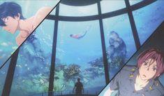 Kyoto Animation, Free!, Nanase Haruka (Free!), Matsuoka Rin, Mermaid, Police Uniform