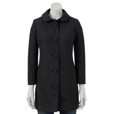 I like this coat - but would prefer a brighter color for spring. Would want to use as a spring coat. LC Lauren Conrad Dot Jacquard Jacket - Women's