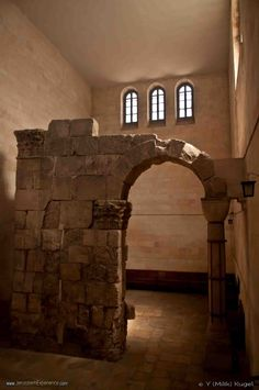 la Puerta del Juicio por la que Jesús pasó en su camino al Gólgota