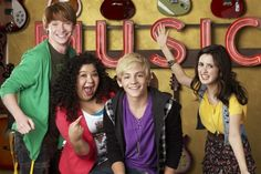 Austin and Ally is one of the best Disney Channel shows along with Good Luck Charlie in my opinion. It's about two sets of best friends (Trish and Ally, Austin and Dez) who meet and form friendships and a partnership with each other. Ally is the brainy, shy, songwriter. Trish is the slightly lazy one who can't hold a job. Austin is the extraverted singer. Dez is the crazy one. This show has really good music in it