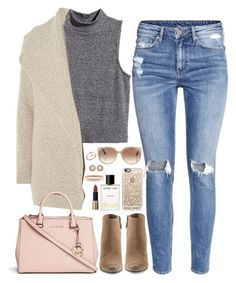 """❤"" by polinachaban ❤ liked on Polyvore featuring Dolce Vita, H&M, James Perse, Michael Kors, Casetify, Tom Ford, Helmut Lang, Bloomingdale's, Kendra Scott and Chanel"