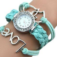 Náramkové dámské hodinky se zirkony modré Na tento produkt se vztahuje  nejen zajímavá sleva 7f06f5a5dc