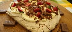Chocolate Tim Tam Pavlova