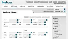 Livebuzz, a melhor ferramenta de monitoramento de redes sociais, publicação, gestão, atendimento, marketing e métricas. #indico  http://www.livebuzz.com.br
