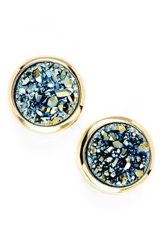 Marcia+Moran+Mini+Drusy+Stud+Earrings+available+at+#Nordstrom