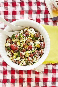 Dill Pickle Potato Salad  - CountryLiving.com