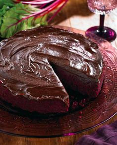 Dr Libby Weaver - Chocolate beetroot mud cake