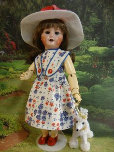 Bleuette Pattern 1942 Robes Sans Manches - Bleuette And More ~ Patterns for Bleuette and Friends