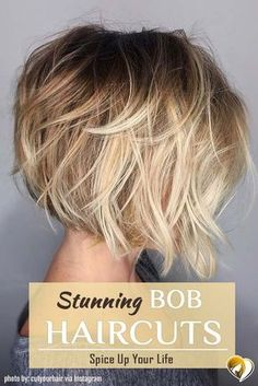 Bob haircuts are adorable. Check out these 7 trendy bob hair cuts for any occasi. Bob haircuts are adorable. Check out these 7 trendy bob hair cuts for any occasi… Bob haircuts are adorable. Check out these 7 trendy bob hair cuts for any occasion. Bobbed Hairstyles With Fringe, Choppy Bob Hairstyles, Bob Hairstyles For Fine Hair, Trendy Haircuts, Girl Haircuts, Teenage Hairstyles, Messy Bob Haircuts, Inverted Bob Haircuts, Modern Haircuts