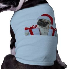 #Pug gifts - dog claus - funny pugs - funny dogs shirt - #puppy #dog #dogs #pet #pets #cute #doggie #doggieshirt