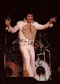 Elvis Presley 1977, Elvis Presley Concerts, Elvis Presley Family, Elvis In Concert, Elvis Presley Photos, Fat Elvis, Moody Blues, Graceland, Levis