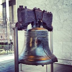 A must see for any history buff liberty lover. Liberty Bell Center in Philadelphia, PA