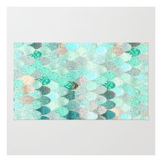 Summer Mermaid Rug ($28) ❤ liked on Polyvore featuring home, rugs, chevron pattern rugs, weave rug, woven rug, abstract rug and machine washable area rugs