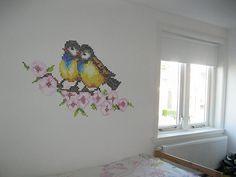 cross stich wall art