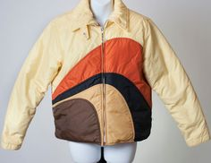 Vtg Gerry Winter Down Puffer Insulated Ski Snow Board Jacket Coat Womens Large #Gerry #Puffer