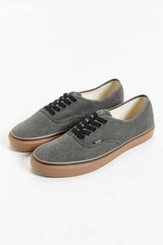 Vans Authentic Washed Gum Sole Sneaker