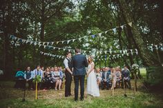 5 Rustic Outdoor Woodland Wedding By John Barwood Photography