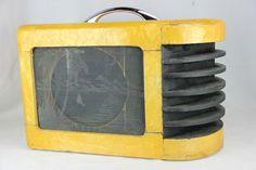 """VINTAGE 1940'S OAHU DICKERSON MODEL 3HGA TUBE AMPLIFIER AMP PROJECT 10"""" SPEAKER #OAHUDICKERSON"""