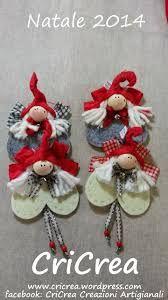 Risultati immagini per coccarde natalizie in feltro