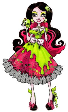 Draculaura as Snow Bite Scary Tales Monster High Illustration Monster High Wiki, Monster High School, Monster Art, Monster High Dolls, Monster High Cosplay, Monster High Halloween, Monster High Birthday, Halloween Face, Ever After High