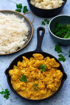 Chou-fleur tikka masala - Amandine Cooking - The Best Breakfast Recipes Best Vegan Recipes Dinner, Easy Soup Recipes, Veggie Recipes, Vegetarian Recipes, Healthy Recipes, Dinner Healthy, Vegan Meals, Healthy Food, Cooking Recipes