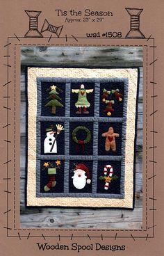 Tis the Season - Wool Applique