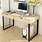 """#ad Soges Computer Desk 47"""" Home Office Desk Study Table Writing Desk Workstation with 2 Drawers, Beige 858-BFM  Brand Description:    Soges is a US Local Brand, we aims to provide the best products and service to every customer. Over the past decade we has specialized in wooden and metal household furniture. We continue to expand our product categories, most recently into home appliances and housewares. With fifty (50) production lines, we design, manufacture and ship traditional .."""