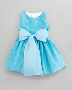 Eyelet Cupcake Dress, Sizes 12-24 Months by Helena at Neiman Marcus.