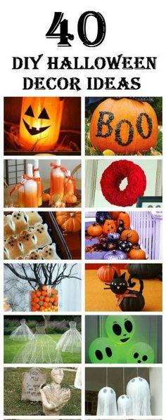 75 Best DIY Halloween Wreaths DIY interior, Interiors and Decorating - cheap diy halloween decorations