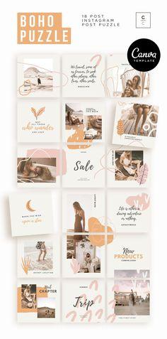Instagram Design, Instagram Feed Layout, Instagram Grid, Free Instagram, Instagram Story Template, Instagram Posts, Instagram Ideas, Animated Gifs, Collage Design