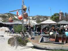 Die Strandloper restaurant in Langebaan, West Coast, Western Cape. Via My Country - South Africa