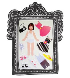 Silhouette UK: Personalised Magnetic Paper Dolls