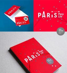 B-01-paris-pass-lib-editorial-design Branding Paris Logo design minimal illustrations colors fresh map minimalist flat