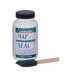 Aquaseal: Map Seal Waterproofing - Encases maps in a permanent, waterproof, clear and flexible film. Maps can be folded and creased, over and over again, without damage, tearing or falling apart.