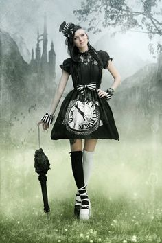 Gothic and Amazing #steamPUNK ♞ #girl
