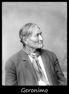 An excellent portrait of Geronimo. One can sense from this portrait many…
