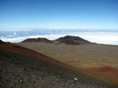 On Mauna kea Hawaii