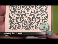 ▶ Create Your Own Resist Background with Lindy's Stamp Gang Embossing Powders - YouTube.   Published on Jun 25, 2014  Watch as Kate shows you how to create your own designer inspired resist backgrounds using Lindy's Stamp Gang embossing powders.