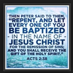 pentecostal and baptism