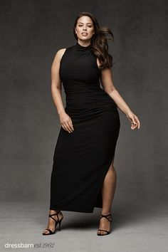 Thanks to dressbarn's BEYOND by Ashley Graham collection, dress season is never over. This maxi is ruched all in the right places — making it the most flattering dress you can find. Wear it with a jean jacket or pair it with strappy pumps for a sexy night out. Available in sizes 4-24. Dress starts at $56. Click to shop this look and more.