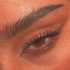 Cute Makeup Looks, Makeup Eye Looks, Eye Makeup Art, Natural Makeup Looks, Pretty Makeup, Face Makeup, Dark Skin Makeup, Natural Eyes, Edgy Makeup