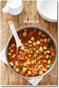 Lentils, Stew, Chili, Veggies, Meals, Cooking, Food, Diet, Meal