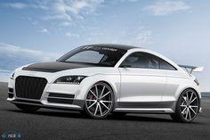 Audi reveals its wildest TT ever (Superlight version as fast as TTRS)