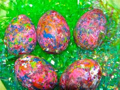 The Chocolate Muffin Tree: Egg Dyeing Experiments With Tinkerlab