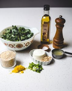 You will need: | How To Make A Delicious Kale-Quinoa Bowl In 20 Minutes